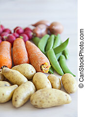 frisk, grönsaken, organisk