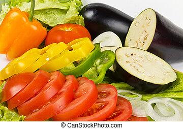 frisk, grönsaken