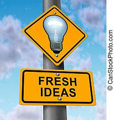 frisk, idéer