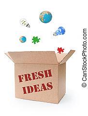 frisk, ideer