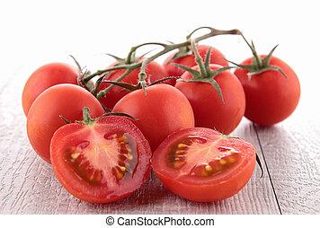 frisk, tomat