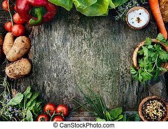 friske grønsager
