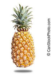 friss, elszigetelt, ananász
