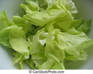 friss, fejes saláta