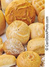 friss kenyér, táplálék csoport