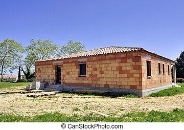 fristående hus, konstruktion under
