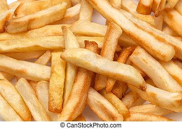 frites, closeup