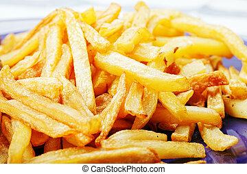 frites, pommes terre