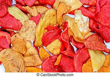 frites, rood