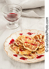 Fritters of cottage cheese