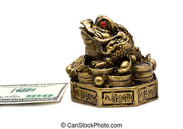 frog and dollar