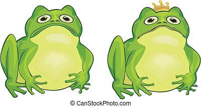 frog and frog king