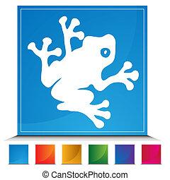 Frog Button Set