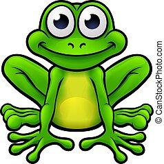 Frog Cartoon Character