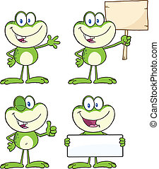 Frog Character 15 Collection Set