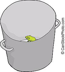 Frog in Bucket