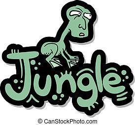 Frog jungle - Creative design of frog jungle