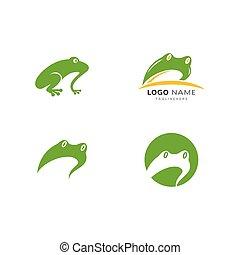 Frog Logo Template