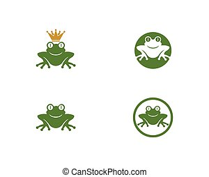 Frog Logo Template
