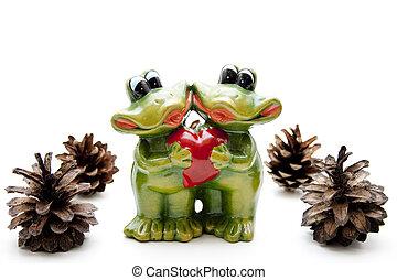 Frog pair