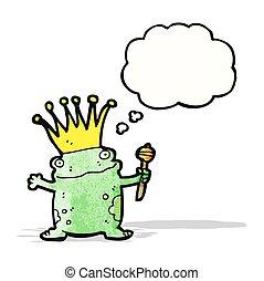 frog prince cartoon