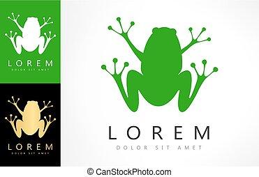 Frog vector logo