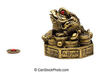 frog with the lost coin