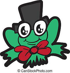Frog with Top Hat
