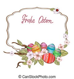 frohe, ostern