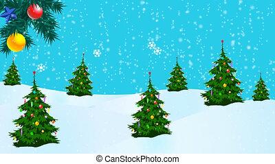 frohe weihnacht, animation