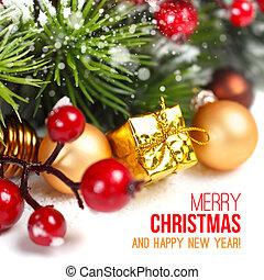 frohe weihnacht, dekoration