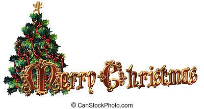 frohe weihnacht, etikett, design, 3d, tex
