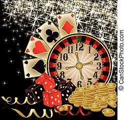 frohe weihnacht, kasino, tapete