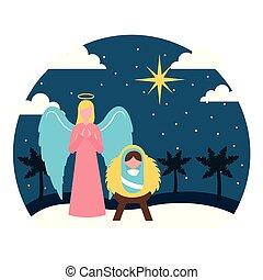 frohe weihnacht, verwandt