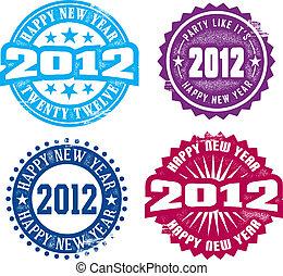 frohes neues jahr, 2012