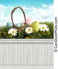 frohes ostern, fruehjahr, background/backdrop
