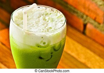 froid, thé vert