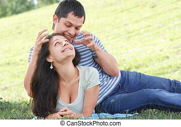 Frolic couple