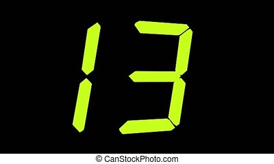 From 20 To 0 Countdown Timer - Countdown 20 To 0 - Twenty To...