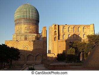 from Bibi-Khanym mosque - Registan - Samarkand