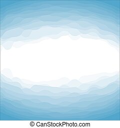From Deep Abstract White and Blue Background
