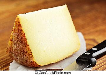 fromage, pecorino, typique, italien