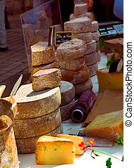 fromages, marché