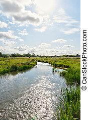frome, landschape rivier