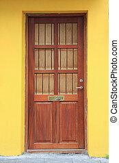 Front door - Colorful front door