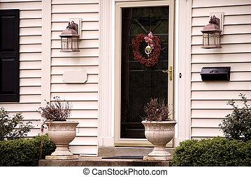Front Door - front door of home