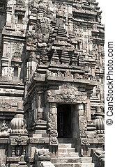 Front door of a Hindu temple