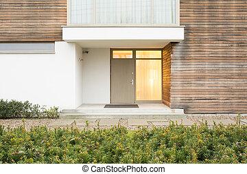 Front door - Photo of front door in up-to-date residence