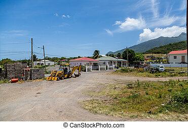 Front End Loader by Shacks on St Kitts