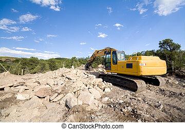 Front End Loader Home Construction Santa Fe USA